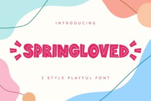 Print on Demand: Springloved Display Font By almarkhatype