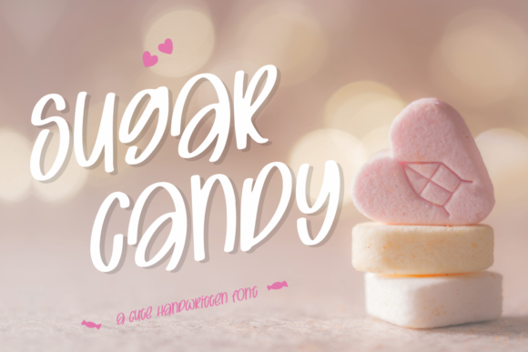 Download Free Sugar Candy Font By Motokiwo Creative Fabrica for Cricut Explore, Silhouette and other cutting machines.