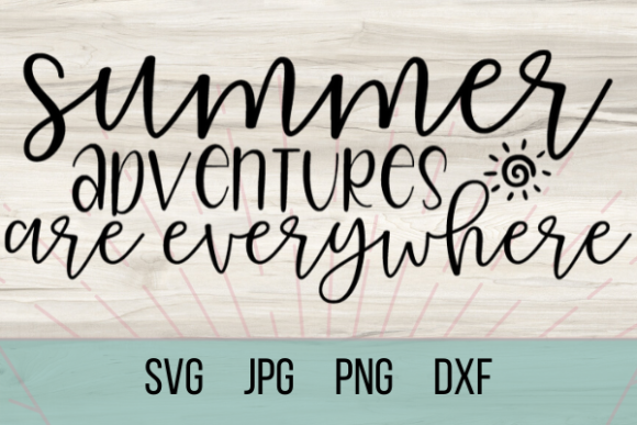 Download Free Summer Adventures Graphic By Talia Smith Creative Fabrica SVG Cut Files