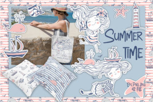 Summer Time.  Graphic Illustrations By grigaola