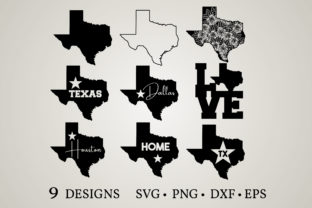 Texas State Graphic Crafts By Euphoria Design