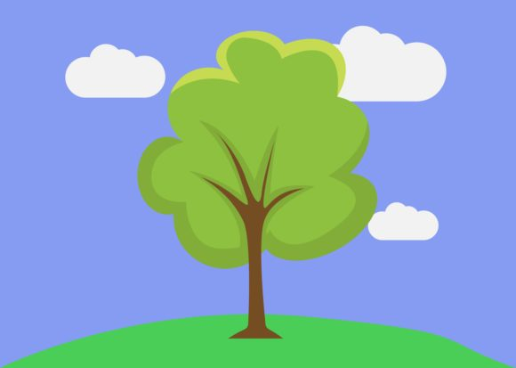 Download Free Tree 16 Graphic By Studioisamu Creative Fabrica for Cricut Explore, Silhouette and other cutting machines.