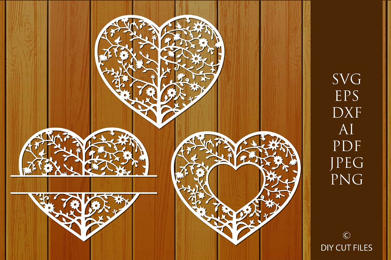 Download Free Tree Of Life Heart Frame Cut File Graphic By Diycuttingfiles for Cricut Explore, Silhouette and other cutting machines.