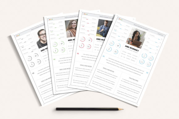 Download Free Ux Workflow Proto Persona Cards Vol 02 Graphic By Sargatal for Cricut Explore, Silhouette and other cutting machines.
