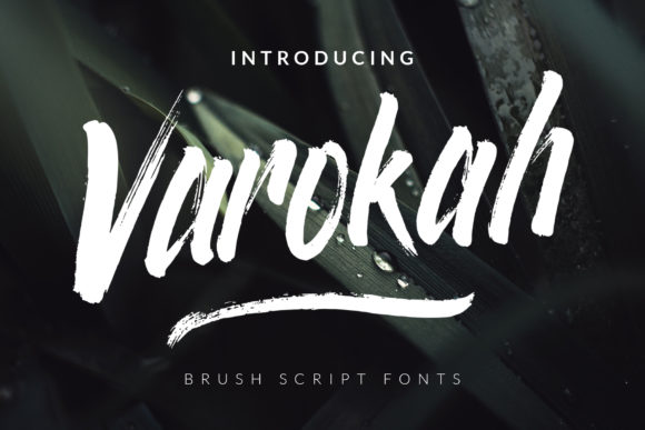 Download Free Varokah Font By Semuthitam Creative Fabrica for Cricut Explore, Silhouette and other cutting machines.