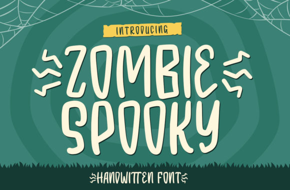Print on Demand: Zombie Spooky Display Font By Typefar