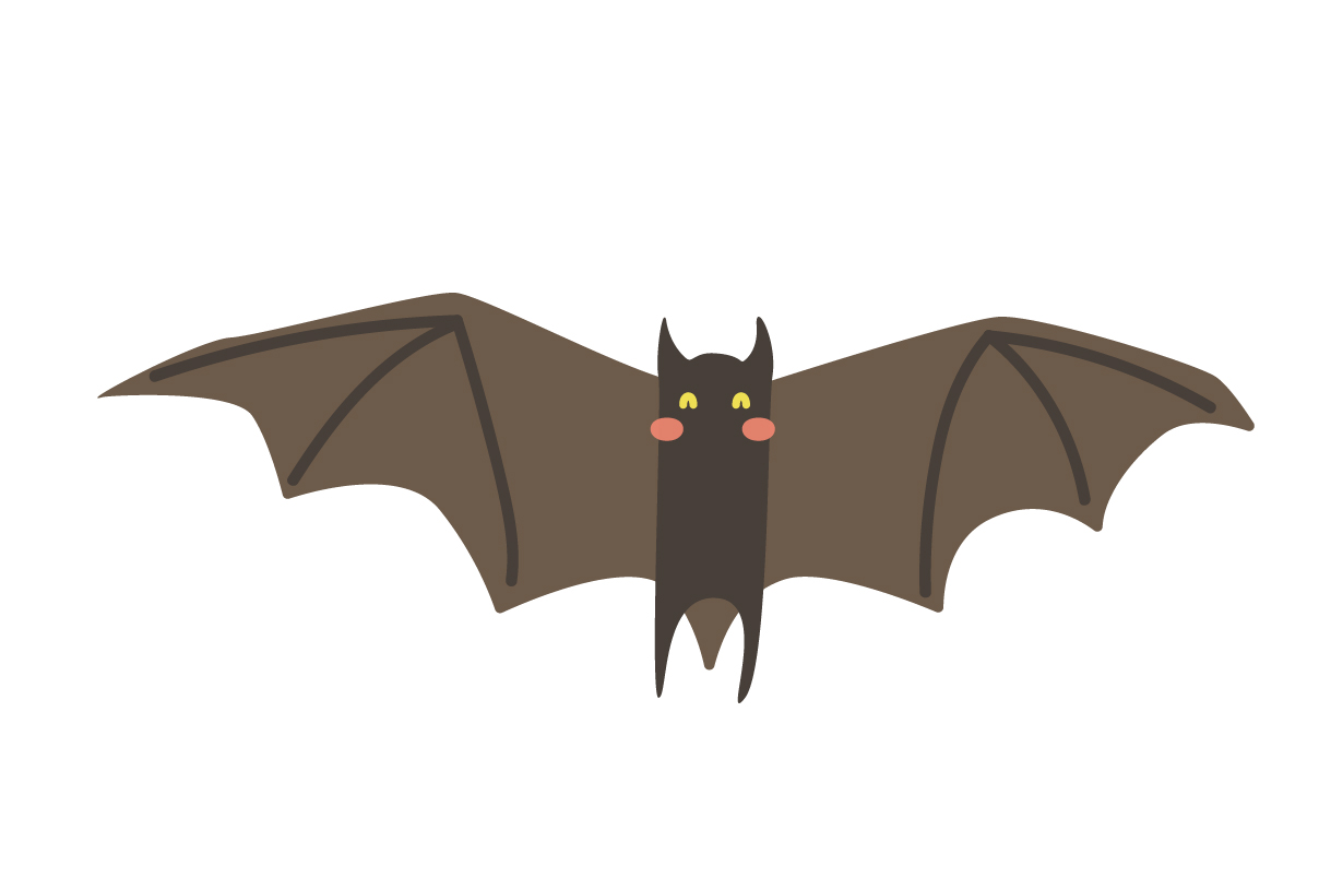 Download Free Cute Bat Animal Vector Graphic By Sasongkoanis Creative Fabrica for Cricut Explore, Silhouette and other cutting machines.