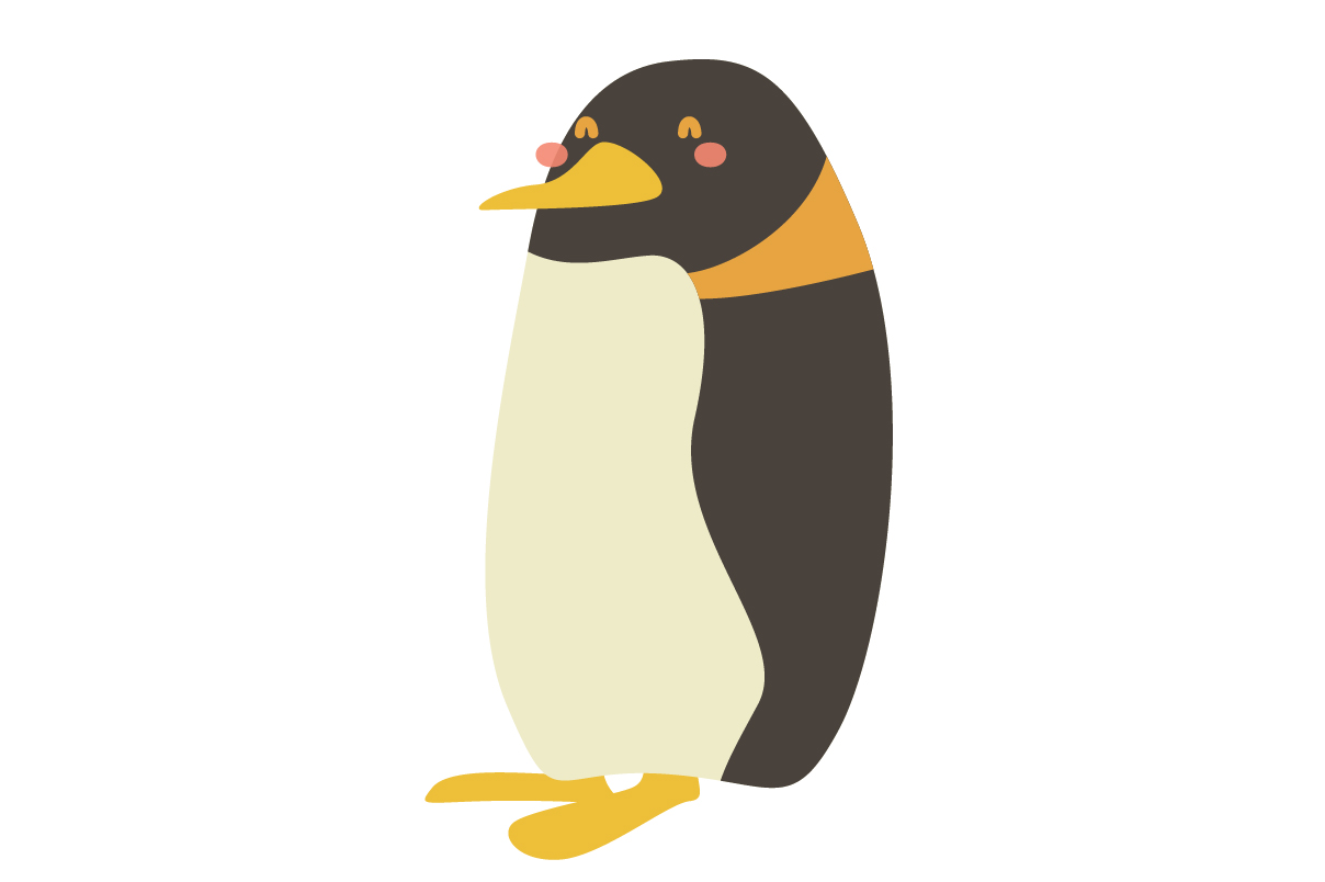 Download Free Cute Penguin Animal Vector Graphic By Sasongkoanis Creative for Cricut Explore, Silhouette and other cutting machines.