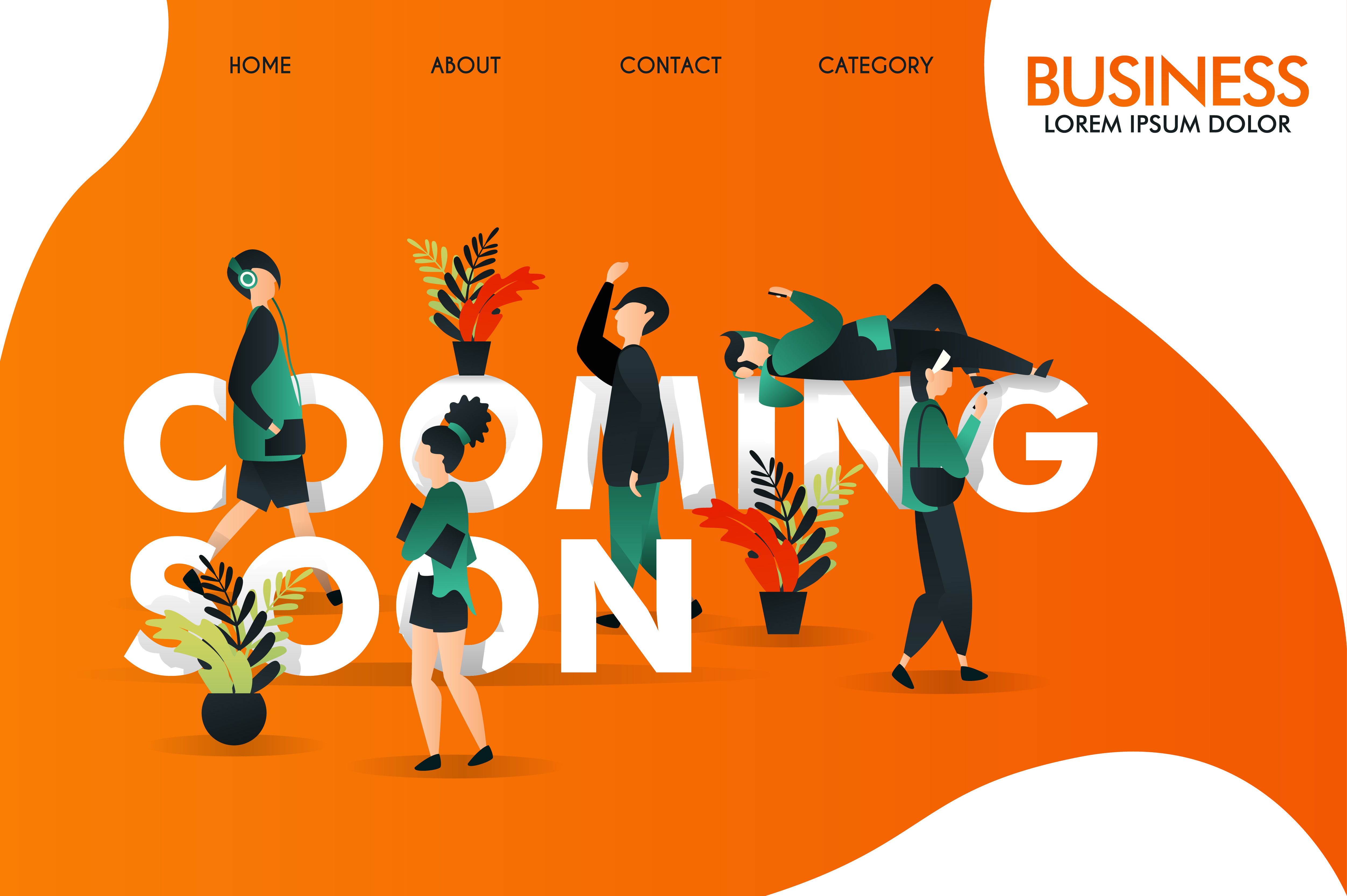 Illustration Of Coming Soon Web Graphic By Setiawanarief111 Creative Fabrica