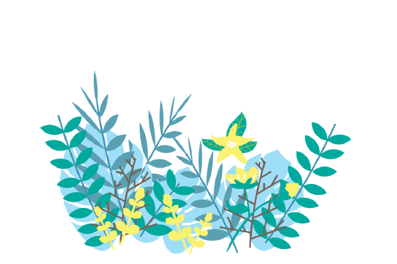 Download Free Tropical Leaf Pack Vector Illustration Graphic By Game Art for Cricut Explore, Silhouette and other cutting machines.