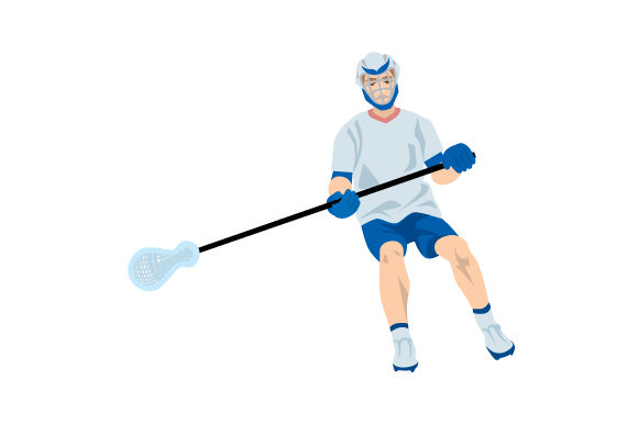 Download Free Lacrosse Defender Svg Cut File By Creative Fabrica Crafts for Cricut Explore, Silhouette and other cutting machines.