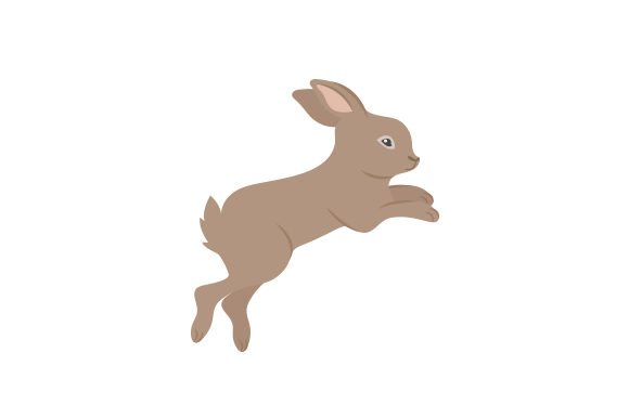 Rabbit Leaping Animals Craft Cut File By Creative Fabrica Crafts