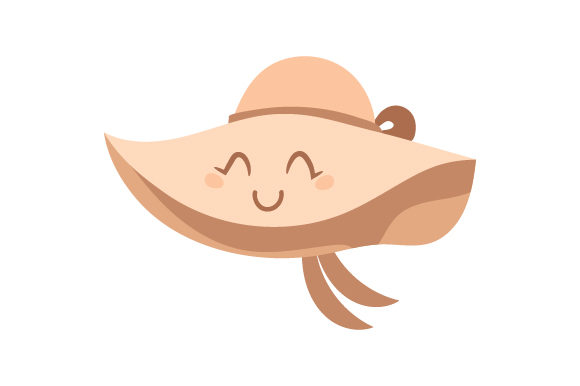 Download Free Large Beach Hat Svg Cut File By Creative Fabrica Crafts for Cricut Explore, Silhouette and other cutting machines.