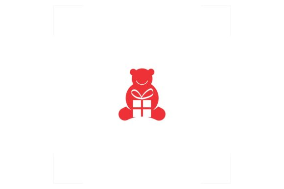 Download Free Bear Doll Logo Gift Graphic By Bentang Tebe Creative Fabrica SVG Cut Files