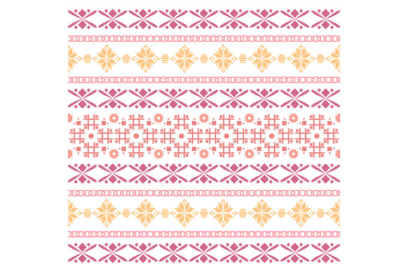 Beautiful Simple Embroidery Design Graphic Backgrounds By stockfloral