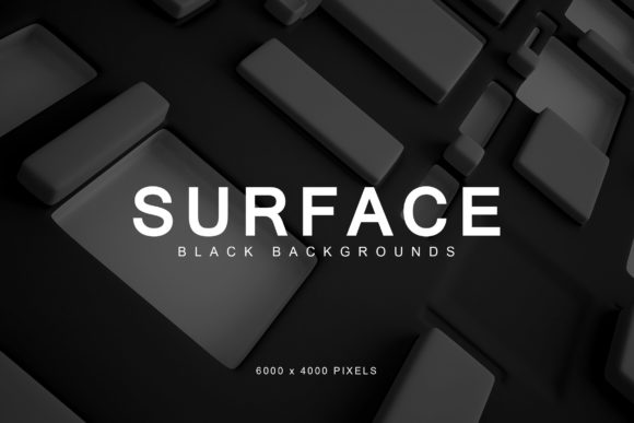 Print on Demand: Black Surface Backgrounds 1 Graphic Backgrounds By ArtistMef