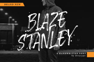 Download Free Blaze Stanley Font By Ditatype Creative Fabrica for Cricut Explore, Silhouette and other cutting machines.