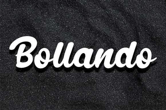 Print on Demand: Bollando Display Font By andikastudio