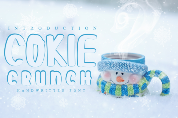 Print on Demand: Cokie Crunch Script & Handwritten Font By Inermedia STUDIO