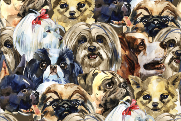 Decorative Dogs Cliparts Graphic Illustrations By NataliMyaStore - Image 2