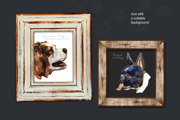 Decorative Dogs Cliparts Graphic Illustrations By NataliMyaStore - Image 5