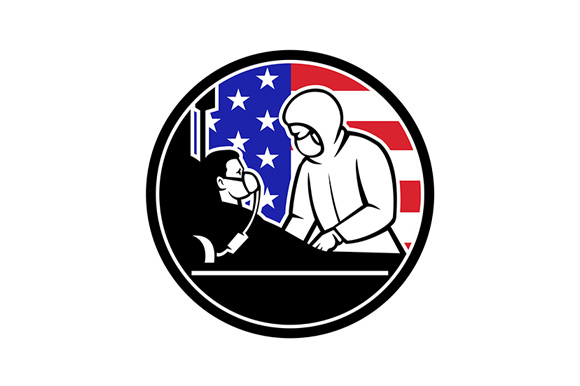 Download Free Doctor Treat Covid 19 Patient Usa Flag Graphic By Patrimonio for Cricut Explore, Silhouette and other cutting machines.