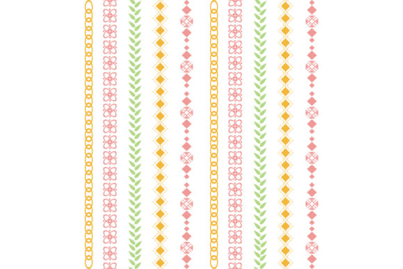 Elegant Stitches Embroidery Style Graphic Backgrounds By stockfloral