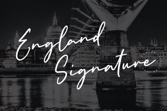 Download Free 1 England Signature Designs Graphics for Cricut Explore, Silhouette and other cutting machines.