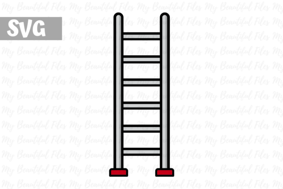 Download Free Firefighter Ladder Icon Graphic By Mybeautifulfiles Creative for Cricut Explore, Silhouette and other cutting machines.