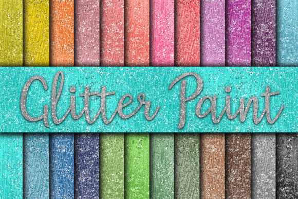 Download Free Glitter Paint Digital Paper Graphic By Oldmarketdesigns for Cricut Explore, Silhouette and other cutting machines.
