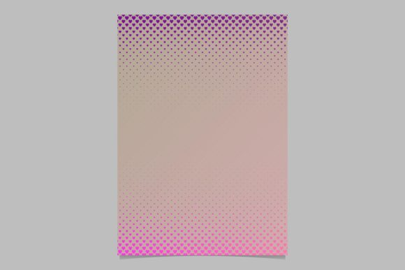 Download Free Gradient Heart Pattern Page Background Graphic By Davidzydd for Cricut Explore, Silhouette and other cutting machines.