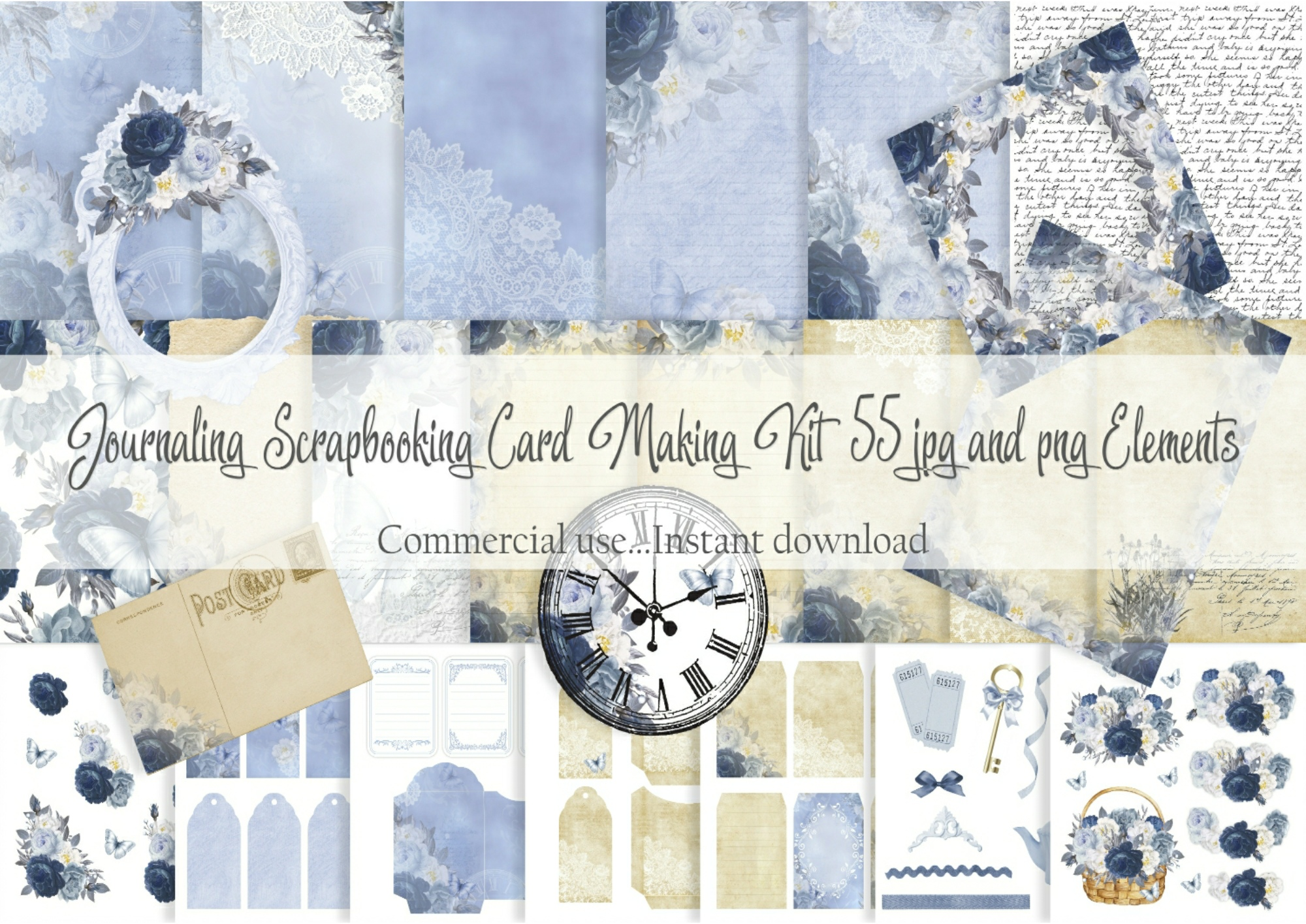 Download Free Journaling Scrapbooking Card Making Kit Graphic By Simply Paper for Cricut Explore, Silhouette and other cutting machines.
