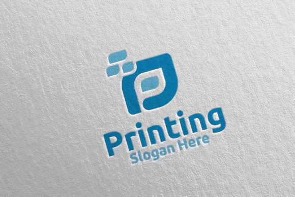 Letter P Printing Company Logo Design 12 Graphic Logos By denayunecf