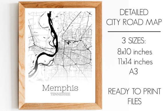 Download Free Memphis Tennessee City Map Graphic By Svgexpress Creative Fabrica SVG Cut Files