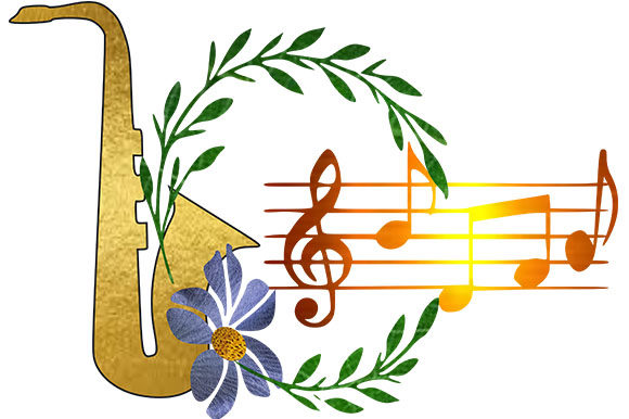 Download Free Music Instruments Notes Graphic By Arts4busykids Creative for Cricut Explore, Silhouette and other cutting machines.