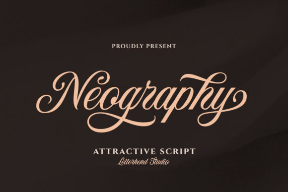 Print on Demand: Neography Script & Handwritten Font By letterhend