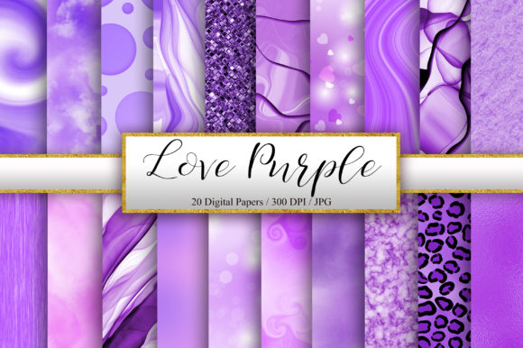 Download Free Purple Background Digital Papers Graphic By Pinkpearly for Cricut Explore, Silhouette and other cutting machines.