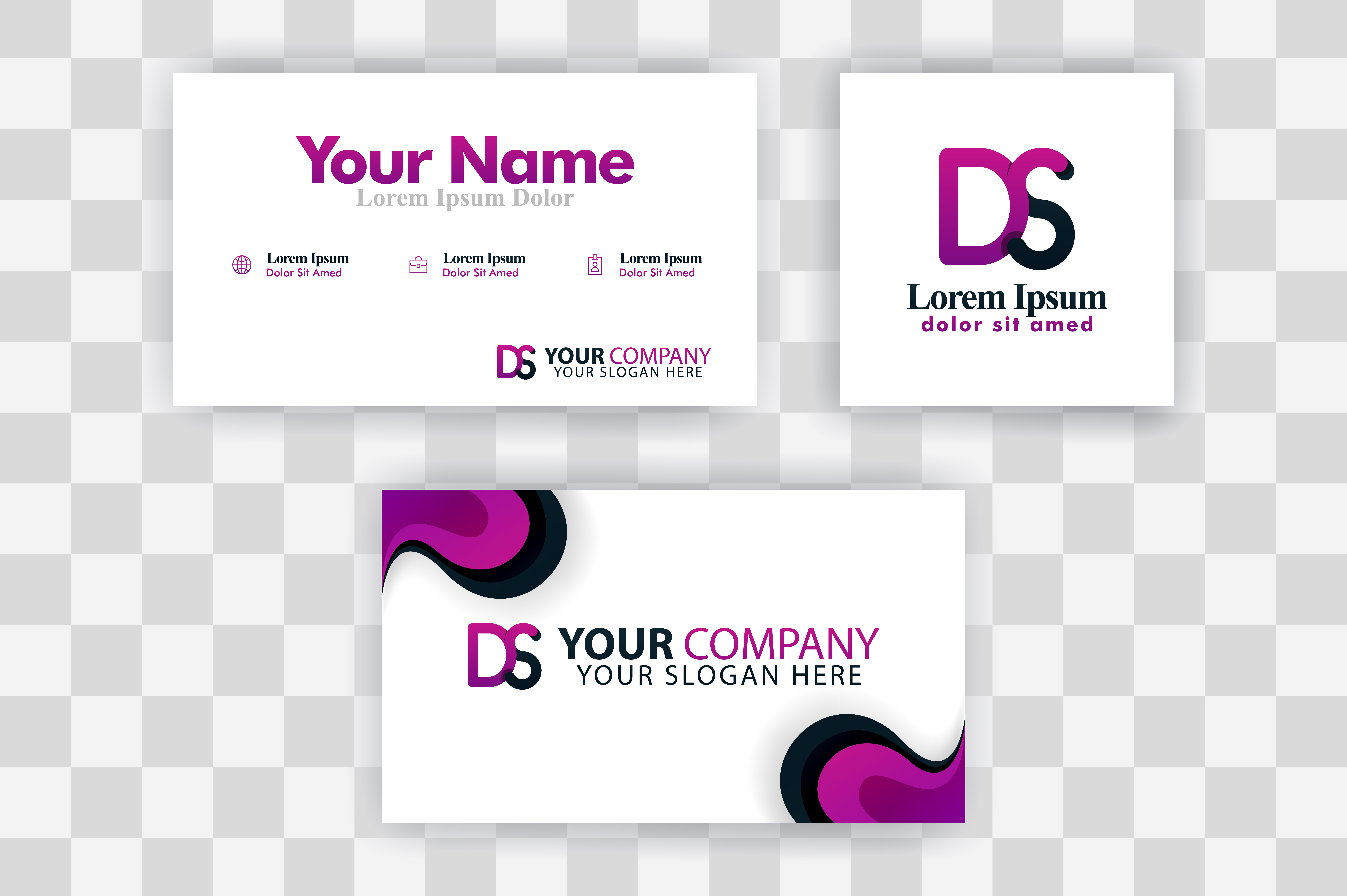 Download Free Sd Letter Logo Business Card Template Graphic By for Cricut Explore, Silhouette and other cutting machines.