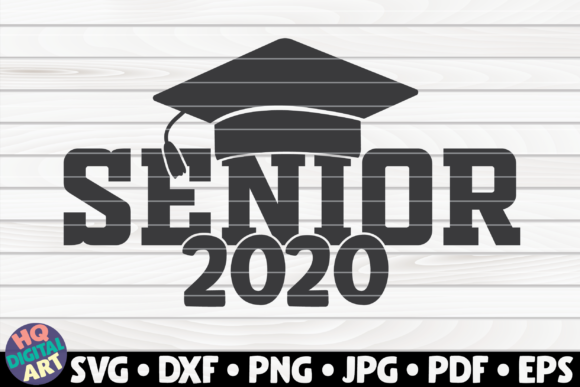 Download Free Senior 2020 Graphic By Mihaibadea95 Creative Fabrica for Cricut Explore, Silhouette and other cutting machines.