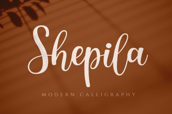 Print on Demand: Shepila Script & Handwritten Font By motokiwo