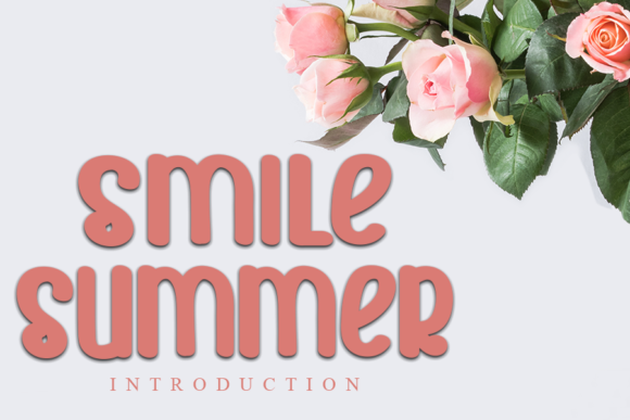 Print on Demand: Smile Summer Script & Handwritten Font By Inermedia STUDIO