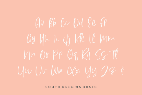 Print on Demand: South Dreamers Script & Handwritten Font By Azetype - Image 13