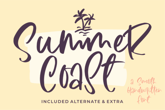 Print on Demand: Summer Coast Script & Handwritten Font By Azetype