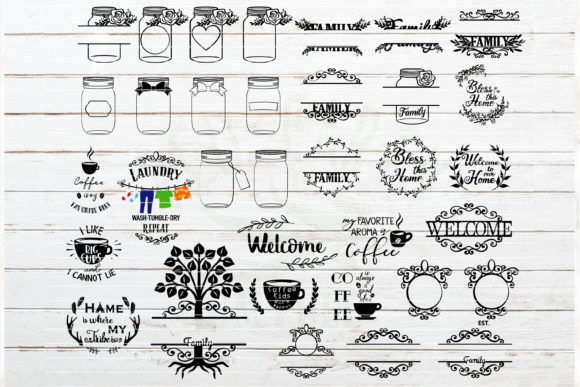 The Huge Home Bundle Graphic Crafts By redearth and gumtrees - Image 4