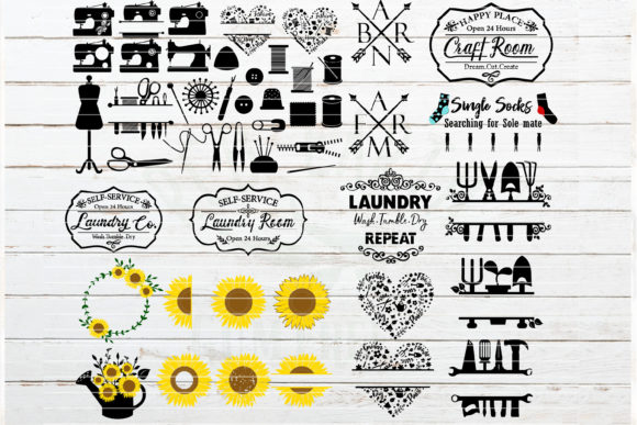 The Huge Home Bundle Graphic Crafts By redearth and gumtrees - Image 6