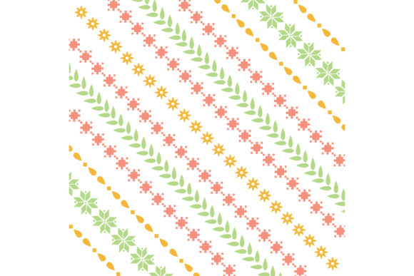 The Art of Unique Floral Embroidery Graphic Backgrounds By stockfloral