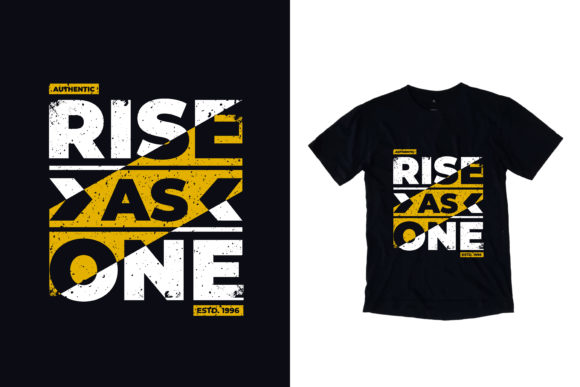 Download Free T Shirt Rise As One Quotes Graphic By Yazriltri Creative Fabrica for Cricut Explore, Silhouette and other cutting machines.