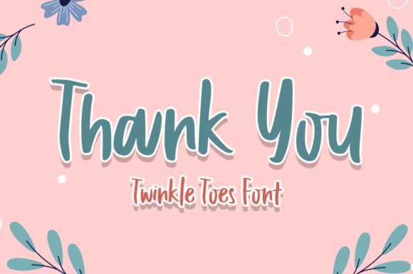 Twinkle Toes Font Image