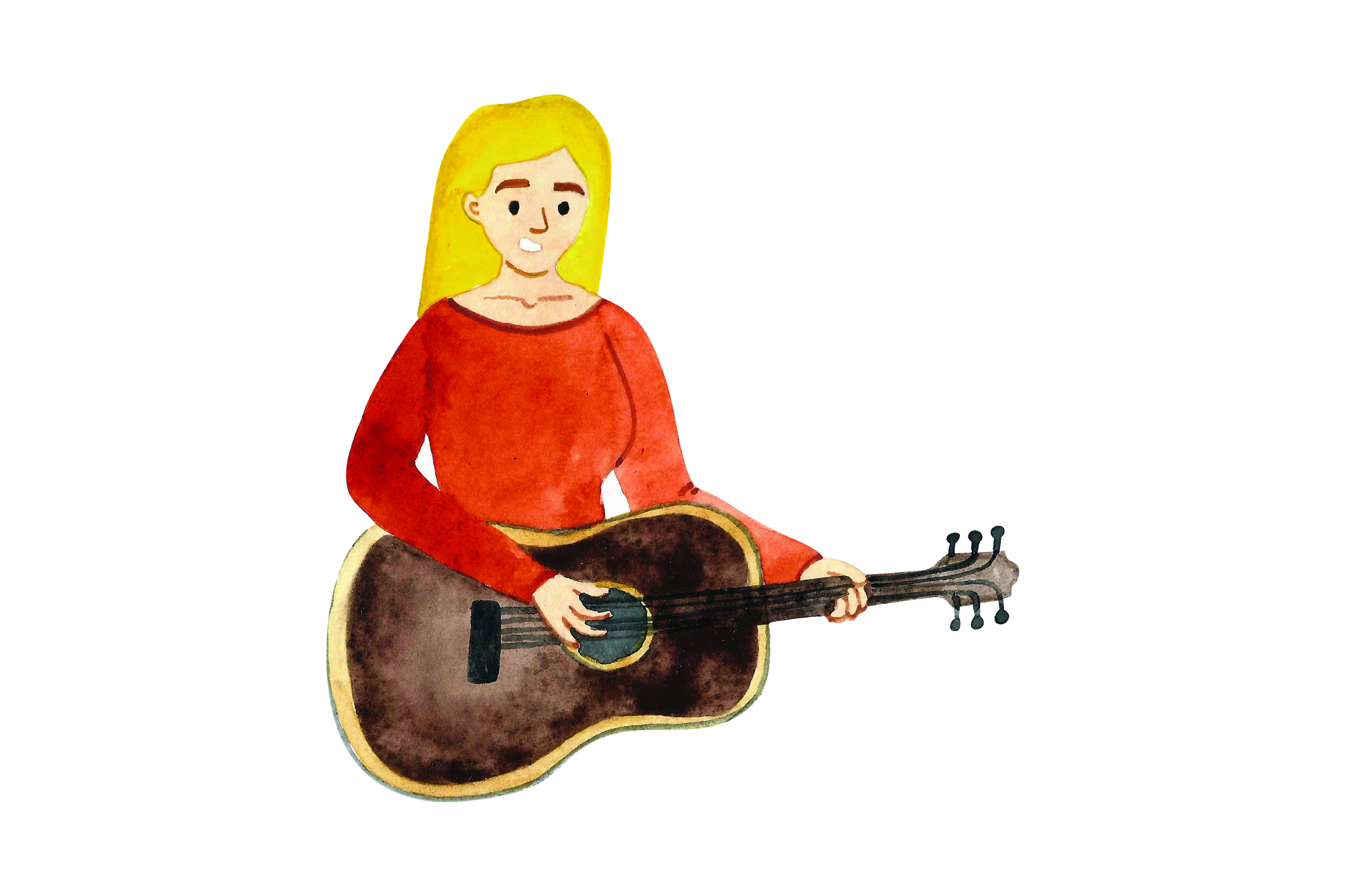 Download Free Guitarist Svg Cut File By Creative Fabrica Crafts Creative Fabrica for Cricut Explore, Silhouette and other cutting machines.
