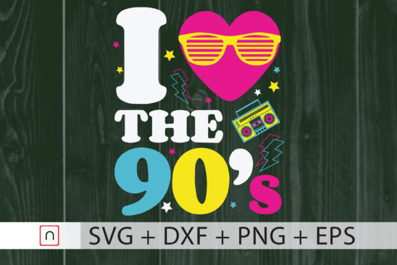 Download Free 1990 S Gift Old School Graphic By Novalia Creative Fabrica SVG Cut Files